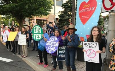 Hundreds in N.J. gather to protest anti-abortion laws