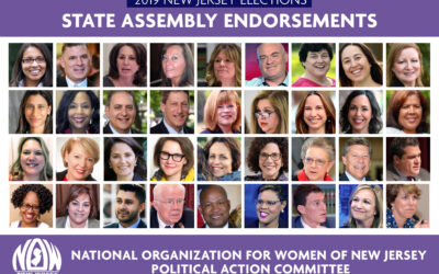 National Organization for Women of New Jersey Political Action Committee announces endorsements for 2019 New Jersey General Assembly elections